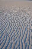 Sand-Kräuselungen lizenzfreies stockbild