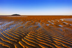 Sand-Kräuselungen Stockfotos