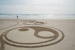 Sand-Kunst 2 Stockbild
