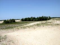Sand lanscape in Danube Delta, Tulcea, Romania Stock Photo