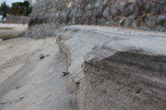 Sand layer Royalty Free Stock Photography