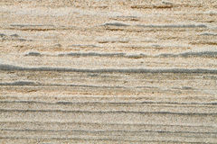Sand Layers Background Stock Photo