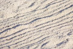 Sand lines Royalty Free Stock Photo