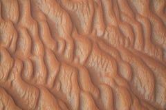 Sand in Liwa-Wüste Stockbilder