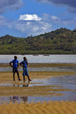 Sand of lokobe reserve Stock Photos