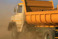 Sand Lorry Royalty Free Stock Images