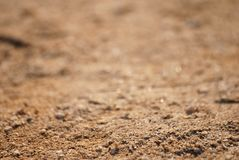 Sand macro-backround Royalty Free Stock Photo