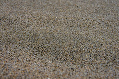 Sand in macro focus Royalty Free Stock Image