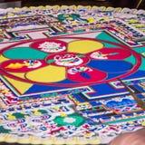 Sand mandala Royalty Free Stock Image