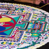 Sand mandala Stock Photo