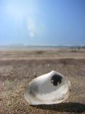 Sand, Meer und Wellen Stockfoto