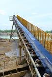Sand mining Stock Photos
