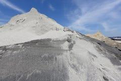 Sand mound Royalty Free Stock Image