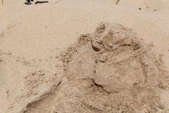 Sand Mound People Stock Photos