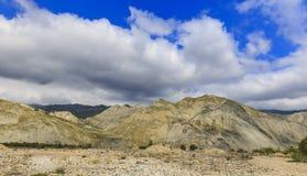Sand Mountain.Natural building materials.Siyazan.Azerbaijan Stock Photos