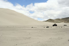 Sand Mountain Recreation Area. A scenic view of Sand Mountain Recreation Area in Nevada, USA royalty free stock photos