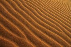 Sand-Muster Stockbild