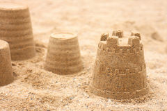 Sand objects Royalty Free Stock Image