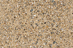 Sand on ocean beach Royalty Free Stock Photography