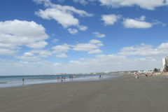 Sand ocean beach in the north Royalty Free Stock Image