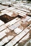 Sand och betong Royaltyfria Bilder
