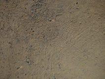 Sand och grus royaltyfri fotografi