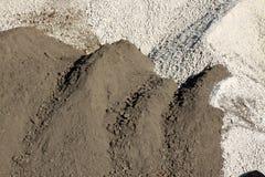 Sand och kiselstenar Arkivbilder