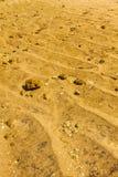 Sand och sten arkivfoto