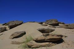 Sand och sten, Thailand Royaltyfria Foton