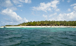 Sand och strand Arkivfoto