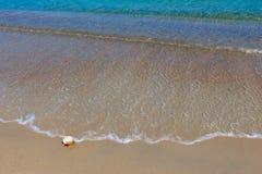 Sand och vatten 11 Royaltyfri Fotografi