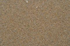 Sand på den Korkhao stranden Khanom Arkivbilder