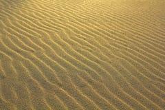 Sand på stranden. Royaltyfria Bilder