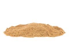 Sand på stranden Royaltyfri Bild