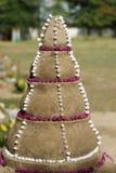 Sand pagoda Royalty Free Stock Photo