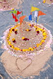 Sand Pagoda Royalty Free Stock Image