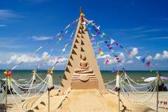 Sand pagodas Royalty Free Stock Image