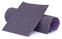 Free Sand Paper Roll And Sheet Stock Photography - 54760132