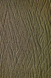 Sand Pattern. A pattern in the sand on a beach royalty free stock photos