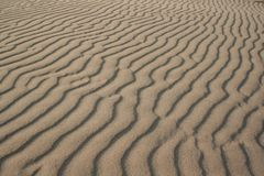 Sand pattern. Wind and sand pattern Royalty Free Stock Images