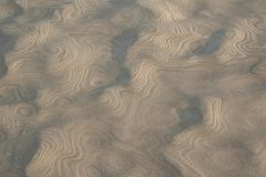 Sand pattern Royalty Free Stock Photo