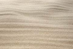 Sand pattern. Close up of sand pattern Stock Images