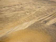 Sand pattern Stock Photography
