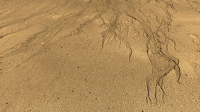 Sand Pattern Stock Photo