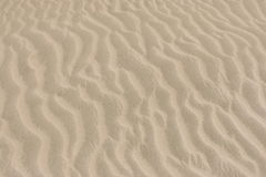 Sand pattern in the desert. Stock Photography