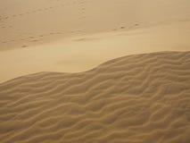 Sand pattern in Mui Ne (Muine), Phan Thiet, Vietnam. Stock Photo