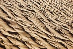 Sand pattern in the Sahara desert. Stock Photo