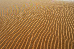 Sand Pattern, Silver Lake Sand Dunes Royalty Free Stock Image