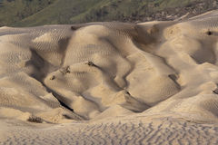 Sand pattern of vocano Stock Image