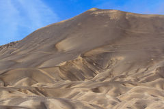 Sand pattern of vocano Stock Photos
